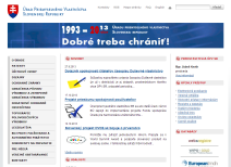official website of the Industrial Property Office of the Slovak Republic